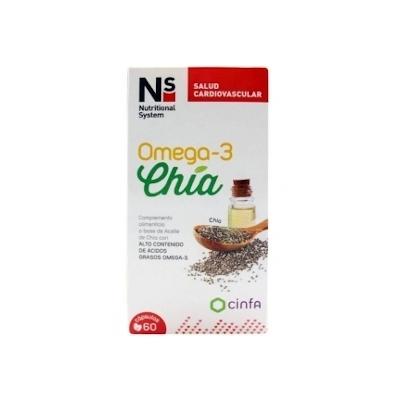 Ns Omega-3 Chia 60 Caps
