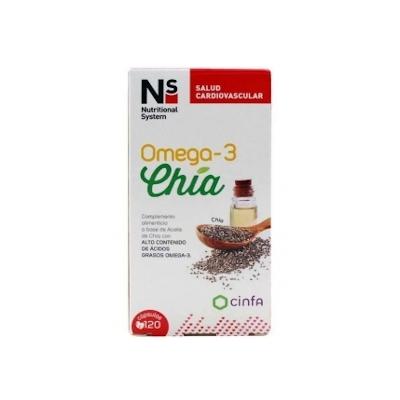 Ns Omega-3 Chia 120 Caps