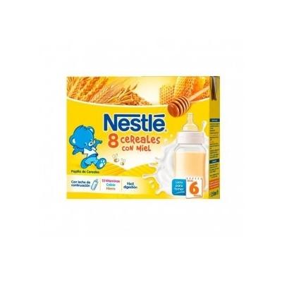 Nestle 8 Cereales Con Miel...