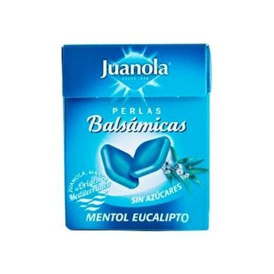 Juanola perlas sabor mentol...