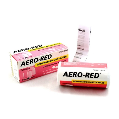 AERO RED 40 MG 100...