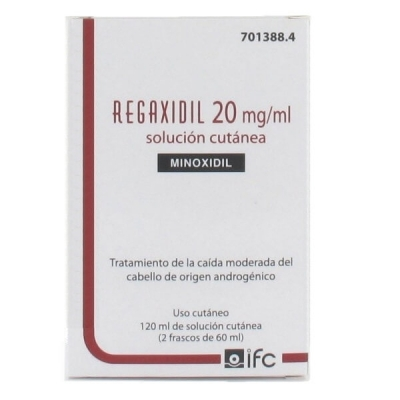 REGAXIDIL 20MG/ML SOLUCIÓN...