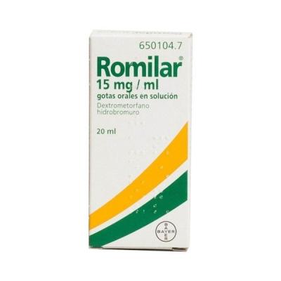 ROMILAR 15 MG/ML GOTAS...